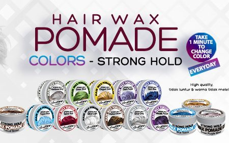 Hair Wax Pomade Color